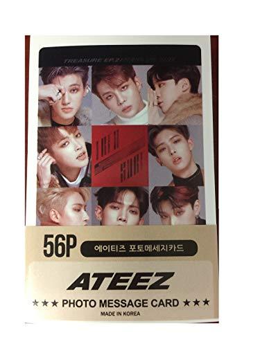 Ateez Mini Post Card Photocards (56pcs)