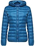 Wantdo Women's Winter Packable Ultra Lightweight Down Coat Warm Short Outwear