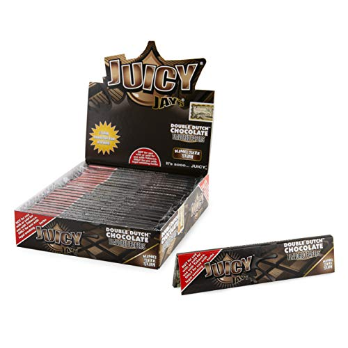 Juicy jay's cartine King Size Slim Schokolade - 24 Bücher