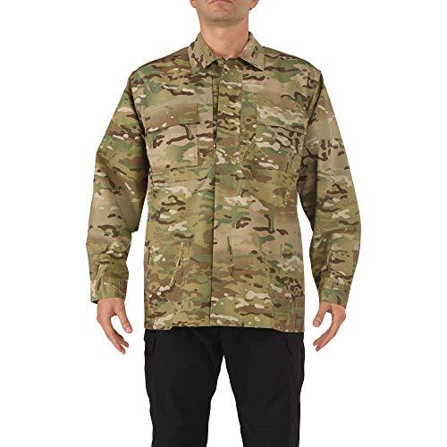 5.11 Tactical # 72013 TDU Chemise à Manches Longues (Multicam) Moyen Multicam