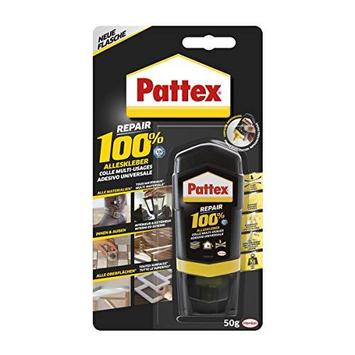 Pattex Repair 100% Alleskleber, starker Kleber für den Innen- und Außenbereich, Klebstoff zur Reparatur für verschiedene Materialien, 1x50g