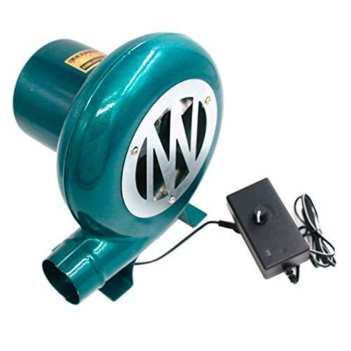 Ventilador Eléctrico de Velocidad Variable Centrífugo Barbacoas Bomba Ventilador Carbón Forja Barbacoa,...