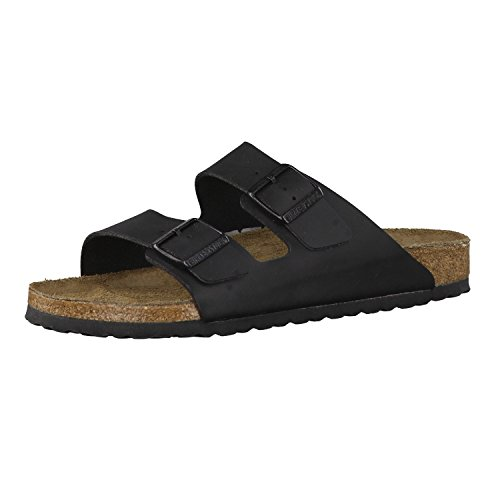 Birkenstock Arizona - Birko-Flor Black Birko-Flor 41 (US Men's 8-8.5, US Women's 10-10.5) Regular