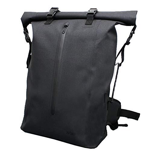 TWR 容量 防水バックパック バイク 自転車 リュック (40L)backpack TPUターポリン バックパック ターポリン バック ターポリン リュック TPUターポリン ロールトップ リュックサック デカリュック おしゃれ デイパック 通学 通勤 キャンピング ツーリング 登山