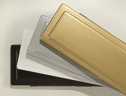 Magflap Briefkasten Zugluftstopper, Magnetisch, Silberfarben