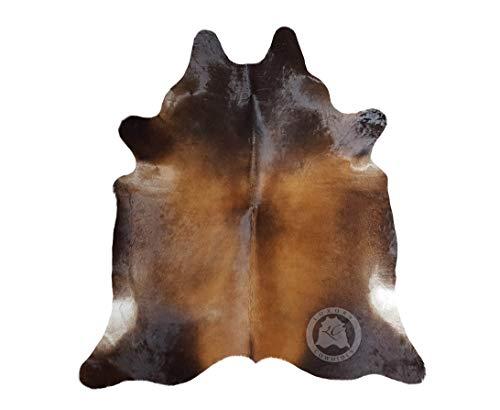 Mahogany Cowhide Rug 5ft x 7ft 150cm x 210 cm