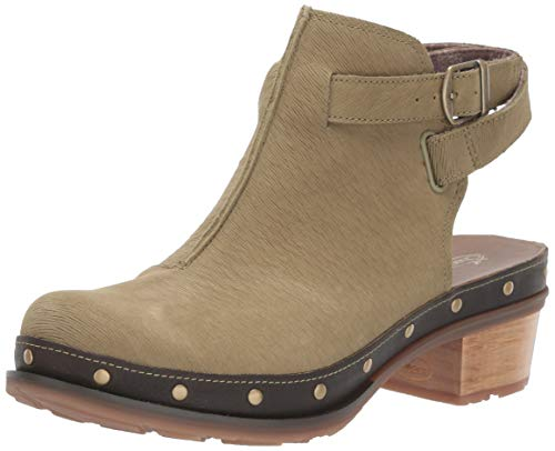 Chaco Women's Cataluna Clog Shoe, Moss, 9.5 M US