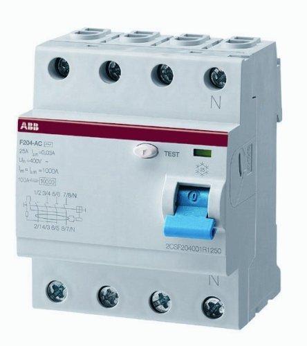 ABBWiring Closet-Switch 40A F204A 40/0.03 by ABB