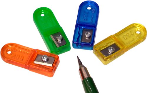Kum 303.58.21 Plastic Lead Pointer Pencil Sharpener, 1 Assorted