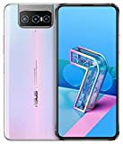 ASUS スマートフォン ZenFone 7 (8GB/128GB/Qualcomm Snapdragon 865/6.67インチ ワイド ナノエッジAMOLEDディスプレイ Corning Gorilla Glass 6/Android 10/5G/パステルホワイト/Clear Case・Active Case付き)【日本正規代理店品】ZS670KS-WH128S8/A