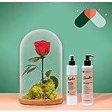 Pack Rosa eterna + cosmética
