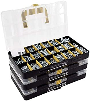 1300-Piece Jackson Palmer Hardware Assortment Kit with Screws