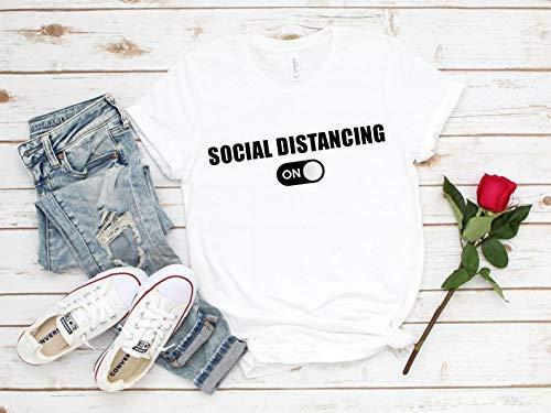Deloach Couture Social Distancing/Funny Covan19 Shirt/Coronavirus Shirt/Shirt for Mom/Anti Virus Shirt/Quarantine Shirt
