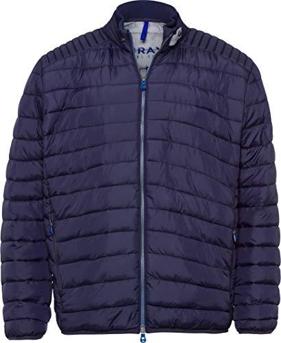 BRAX Herren Style Craig Zero Down Ultralight Jacke, Navy, Large (Herstellergröße: 52)