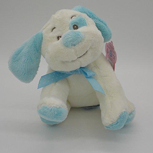Crosswear Knuffel Zachte Doggy - Baby Paws Blauw