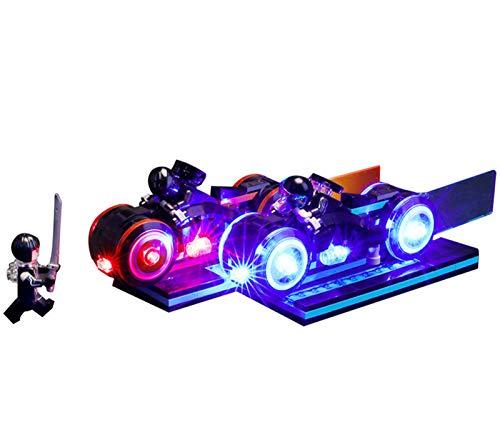 QZPM Kit De Iluminación Led para Lego Ideas Tron Legacy, Compatible con Ladrillos De Construcción Lego Modelo 21314, Juego De Legos No Incluido