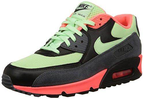 Nike Air Max 90 Essential, Scarpe da Ginnastica Uomo, Multicolore (Vapor Green/Vapor Green-Black-Dark Grey-Hot Lava), 42 EU