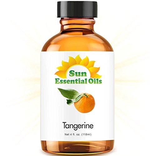 Tangerine Essential Oil (Huge 4oz Bottle) Bulk Tangerine Oil - 4 Ounce