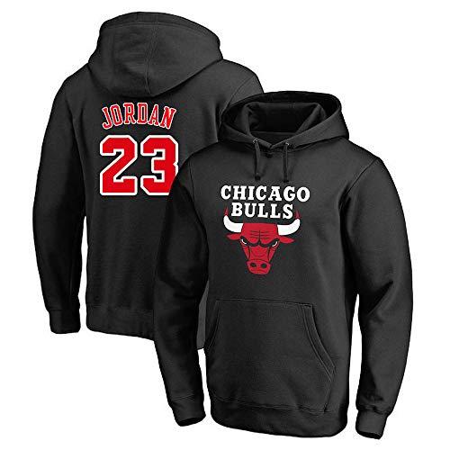 Männer Damen Hoodie NBA Chicago Bulls 23# Jordan Trikot Trainingsanzug Basketball Hoodie Sport T-Shirt