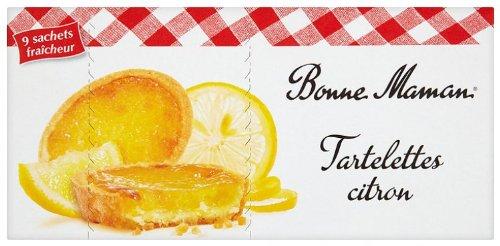 Bonne-Maman Tartelettes au Citron 9 Sachets Individuels