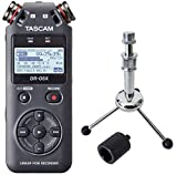 Tascam DR-05X Audio-Recorder + keepdrum Tripod Stativ + Stativadapter