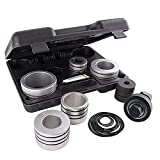 Amerbm Exhaust Pipe Expander Stretcher Tool Set 1-5/8 to 4-1/4 Inches with A...