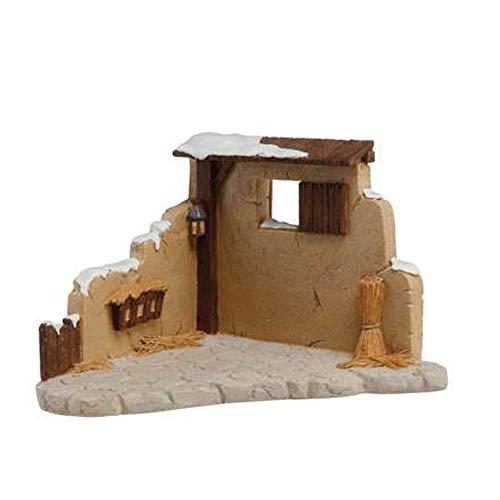 Goebel Weihnachtskrippe, Holz, braun, 21x12cm
