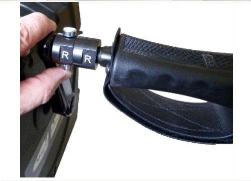 MAGNETRAINER Paio di innesti rapidi Mini Cyclette Casa e Clinica – utilizzati per disconnettere Velocemente Pedali, manubri ergonomici e Pedali Extra Large