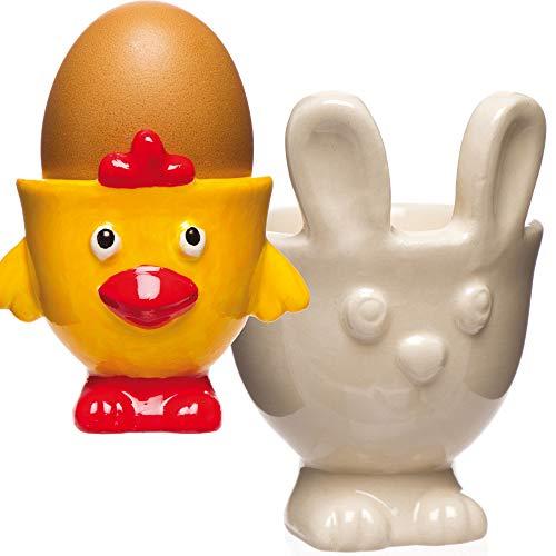 Baker Ross Coquetier de Pâques en porcelaine (Lot de 4) - Loisirs créatifs de Pâques pour enfants AW150