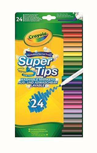 CRAYOLA Supertips x24