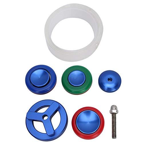 Removedor Metal Aluminio Material Cristal frontal Reloj Abridor de cristal Diseños razonables Herramientas profesionales para relojeros 3 tamaños para elegir Accesorios completos