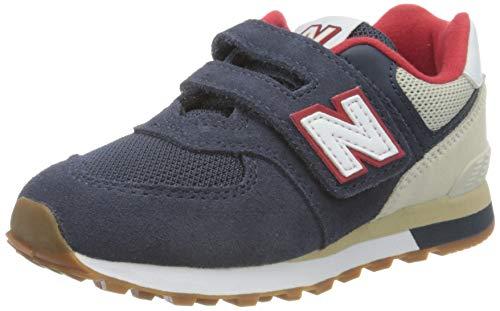 New Balance 574 YV574ATP Medium, Scarpe da Ginnastica Bambino, Blue (Navy ATP), 33