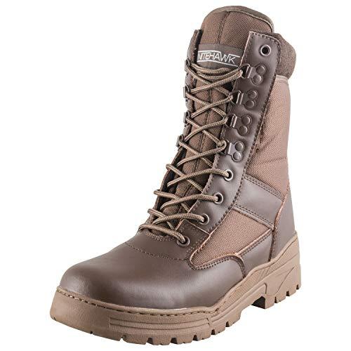 Nitehawk Brown Army Patrol Boots - Size 7