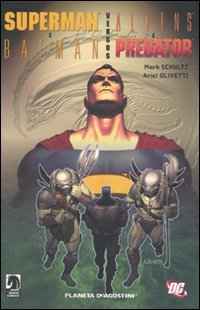 Superman e Batman versus Aliens e Predator