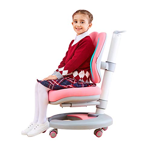 Sessel Lehrstuhl für Kinder Kinderstudienstuhl-Skizzestuhl, der Körperhaltungkorrekturstuhl sitzt, der Computer-Drehstuhlstudentenschreibschreibensstuhl-Multifunktionsstudiestuhl anhebt