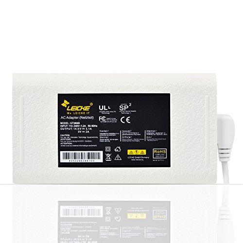 LEICKE MagSafe Power Supply (groot) 45W voor MacBook Air 11 en 13 (begin 2010, Metà 2011) | Extra USB-poort | Voeding van de volgende generatie 2017 | Compatibel met A1237 A1369 A1370 A1374