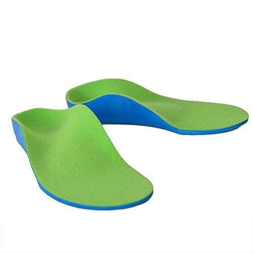 Benkeg Orthopedic Insoles for Shoes - Semelles Orthopédiques pour Chaussures Pied Plat Support de la Voûte Orthèses Pads Pieds de Correction Soins de