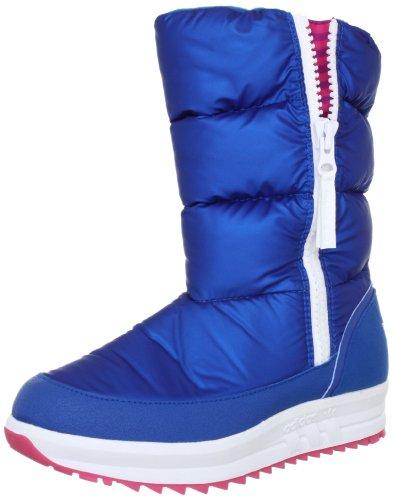 adidas Originals SPORTY SNOWPARADISE G60639, Damen Stiefel, Blau (DRKROY/DRKRO), EU 36 (UK 3.5) (US 4)