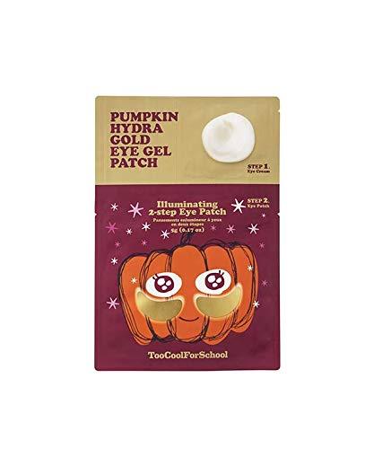 Too Cool For School Pumpkin Hydra Gold Eye Gel Patch