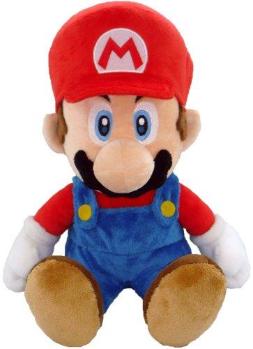 Peluche Super Mario - 27,9 cm - Grande Peluche Mario