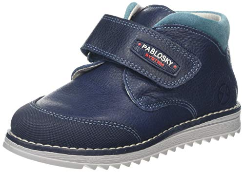Pablosky 64521, Botas Bebés, Azul, 21 EU