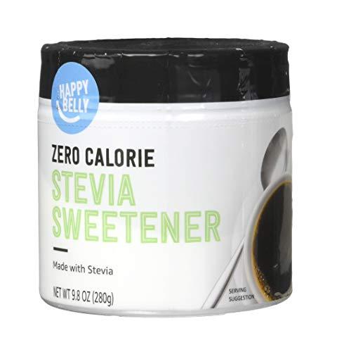 Amazon Brand - Happy Belly Zero Calorie Stevia Sweetener, 9.8 Ounce (Jar)