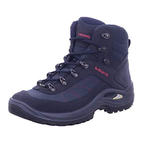 Lowa Taurus II GTX® MID Ws Damen Wanderstiefel Tracking Outdoor Goretex Blau, Schuhgröße:42 EU
