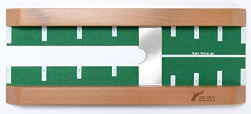 Best Track Putting Plate die perfekte Ergänzung zu Best Track Puttingmatten, innovatives 3-in-1-Trainingsgerät um die Putt-Präzision effizient zu steigern, Indoor-Training