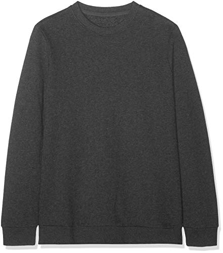 Amazon-Marke: find. Herren Pullover, Grau (Charcoal Marl), S, Label: S
