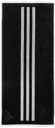 [アディダス] トレーニングウェア フェイスタオル [ユニセックス] FTG29 ブラック/グレーファイブF17 (DV00...