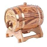XWX Hogar Roble Crianza En Barrica Barril De Whisky Barril Dispensador De Almacenamiento Edad Tu Cerveza Destilados Whisky Portland (Size : 5l)