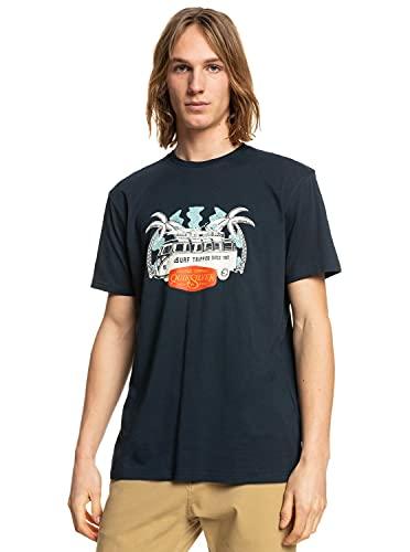 Quiksilver Camiseta M - Azul
