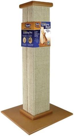 SmartCat 3832 Ultimate Scratching Post, 81cm height, Beige