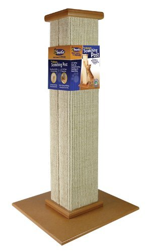 SmartCat 3832 Ultimate Scratching Post, 81cm height, Beige